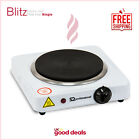 Portable Electric Hot Plate Cooking Hob Stove Cooker Boiling Ring 1000W-1500W
