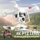 Foldable Quadcopter 2.4G WIFI FPV Drone RC Drones W/ 4K HD Camera One-key Repayment