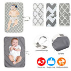 Mum Portable Foldable Pad Washable For Baby Travel Nappy Diaper Changing Mat Pad