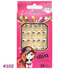 Broadway Nails Little Diva Gel Candy Nails No Glue Needed SELECT STYLE