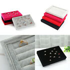 Kyпить US 1-2 Pc Velvet Jewelry Ring Display Organizer Tray Holder Earring Storage Case на еВаy.соm