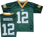 Green Bay Packers Aaron Rodgers Youth Mid Tier Kids Jersey 4-7 $35 New tags $12.95 USD on eBay