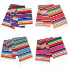 "1/5/10Pc 14x84"" Mexican Serape Table Runners for Wedding Fiesta Party Decoration"