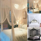 Mosquito Netting 4 Corner Post Bed Canopy Mosquito Net Full King Size Bedding image