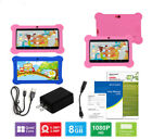 """7"""" Quad Core Android Tablet PC WiFi Dual Cameras 8GB for Kids Children Gift"""