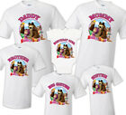 Внешний вид - Masha and the Bear t shirt Birthday Matching Party Family Kid Tshirt Masha