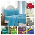 Egyptian Comfort 1900 Count 4 Piece Bed Sheet Set Extra Deep Pocket Fitted Flat image