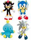 "TOMY Sonic the Hedgehog 8"" Plush - Sonic, Knuckles, SuperSonic, Shadow, Chao"