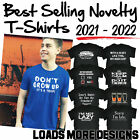 Men's Plain Blank 100% Cotton Gildan Premium T-Shirt Tee tshirt T Shirt New Tees