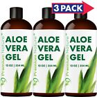 Pure Aloe Vera Gel For Face & Body Moisturizer Variations 12 oz to 4 gal