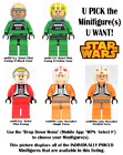 LEGO Star Wars REBEL PILOTS Minifigures (Group 1) **USED** $7.5 USD on eBay