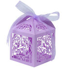 Clearance !! 100Pcs Ribbon Gift Favor Boxes Candy Bags Wedding Party Baby Shower