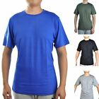 Men's 100% Merino Wool Sports T Shirt Lightweight Athletics Short Tee USA image