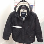 ABERCROMBIE & FITCH WOMENS ALL SEASON WEATHER WARRIOR SHERPA LINED PARKA SIZE L