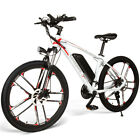 SAMEBIKE 26''/20'' Folding Electric Bike Power Assist E-Bike Scooter 30km/h I1R3