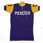 MAGLIA MERCIER Ciclismo Vintage Cycle Bike Made in Italy Poulidor