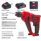 TOPEX 20V SDS Plus Cordless Rotary Hammer Drill Kit w/ Battery Charger Bits