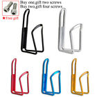 2PCS Aluminum Alloy Bike Drink Water Bottle Holder Cup Cages 40g Outdoor Sports