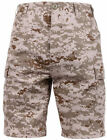 DESERT DIGITAL CAMOFLAGE ROTHCO 65416 MENS BDU COMBAT CARGO SHORTS S TO 2X