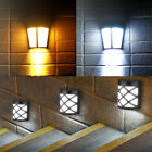 Waterproof LED Solar Light Motion Sensor Wall Light Outdoor Garden Yard Lamp USA