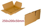 Shipping Cardboard Postal Boxes Mailing Gift Packet Small Parcel 320GSM