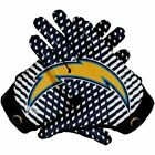 American Football Gloves Los Angeles Charger Team NFL Glue Grip silicon Printing $39.99 USD on eBay