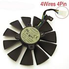 Cooling Fan T129215SU 12V 0.5A 87mm For ASUS Strix RX470 RX460 GTX980TI R9