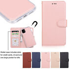 For Iphone 11 Pro Max 7 8 Plus Xs Xr 6s Leather Flip Wallet Card Slot Case Cover