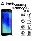 4 Pack For Samsung Galaxy J3 Orbit/Star/V 2018 Tempered Glass Screen Protector