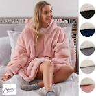 Sienna Hoodie Blanket Oversized Ultra Plush Sherpa Giant Big Hooded Sweatshirt
