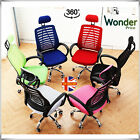 LUXURY ERGONOMIC MESH OFFICE CHAIR ADJUSTABLE SWIVEL EXECUTIVE HIGH BACK CHAIRS