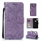 Flip Magnetic Leather Stand Wallet Card Case Cover Fr Moto G7/E5 Play/Power/Z4/3