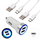 Cell Phone Car Wall Charger For ZTE Zmax Pro Grand X Max 3 XL Z982 Z981 USB Cord