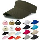 Womens Sun Visor Tennis Golf Outdoor Peaked Cap Headband Sports Hats Adjustable