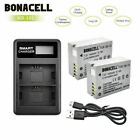 2× 1400mAh NB-10L NB10L Battery / Charger for Canon Powershot SX50 HS SX40 G15