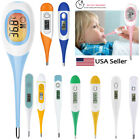 Kyпить Digital LCD Thermometer Medical Teal Body Safe Soft Electronic Thermometer NEW на еВаy.соm