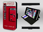 Retro Coca Cola Vending Machine Coke Bottle Can Wallet Leather Phone Case Cover £9.95  on eBay