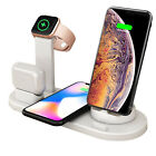 4 in 1 Fast Magnetic Wireless Charging Stand & Charging Pad for Apple/Android