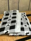 Baby Infant Burp Rags Cloths Boy or Girl Checkered Bison 100% Cotton Gerber