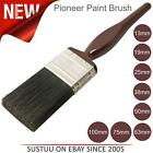 Pioneer Series 11 Maroon Handle Paint Brushes│All Sizes 13mm to 100mm
