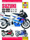 Haynes 3553 1996-2000 Suzuki GSX-R600 GSX-R750 Maintenance Service Shop Manual