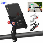 Universal Adjustable Motorcycle Bike Smart Phone Handlebar Mount Holder Cradle