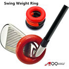 A99Golf Club Weighted Swing Ring Training Aid - Swing Warm-Up Tool, warm muscles