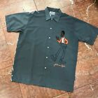 Men's Platinum Fubu Weird Harold Dk.Grey Button Down Shirts