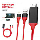 Lightning to HDMI Cable 2M TV AV Adapter Charger For iPad Air iPhone 11 X 8 7 SE