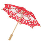 Lace Bridal Umbrella Retro Embroidered Parasol for Dancing Photography Prop