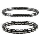Weight Loss Round Black Stone Bracelets Health Care Magnetic Therapy Bracelets