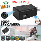 HD WIFI 1080P Hidden Camera USB Wall Charger Adapter Recorder Security Cam US/EU