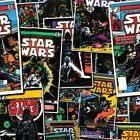 Star Wars 100% Cotton Fabric **sold per fat quarter** Hans Solo Leia R2D2 Dark