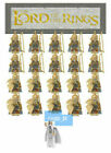 21pcs CUSTOM Knight Minifigures Military Army Soldier Figure DIY Minifigure Toys